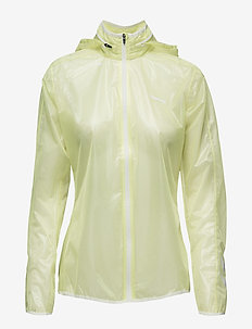 ALESSA ZIP JACKET - training jackets - sunny lime