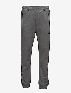 CLASSIC BEE AAGE PANTS - DARK GREY MELANGE