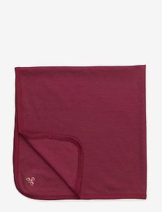WOOL BLANKET - blankets & quilts - sangria
