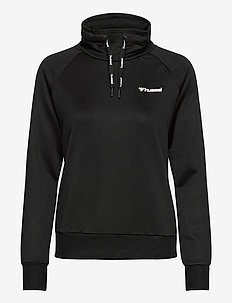 HMLDAMARA SWEAT SHIRT - sweatshirts - black