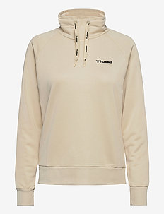 HMLDAMARA SWEAT SHIRT - sweatshirts - bone white