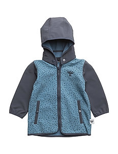 SHAO SOFTSHELL JACKET - COPEN BLUE