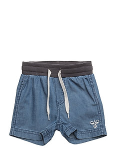 HMLJACO SHORTS - DENIM BLUE