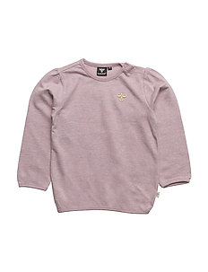 MILLA SWEATSHIRT - PURPLE MELANGE