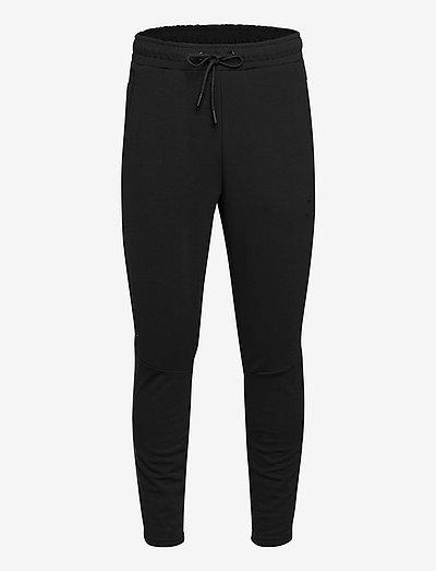 hmlISAM TAPERED PANTS - trainingsbroek - black