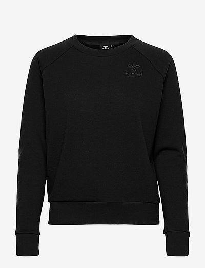 hmlNONI SWEATSHIRT - sweatshirts - black