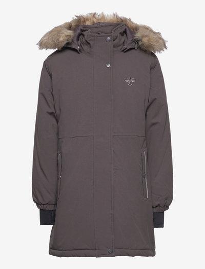 hmlLEAF COAT - isolerede jakker - pavement