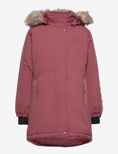 hmlLEAF COAT - isolerede jakker - roan rouge