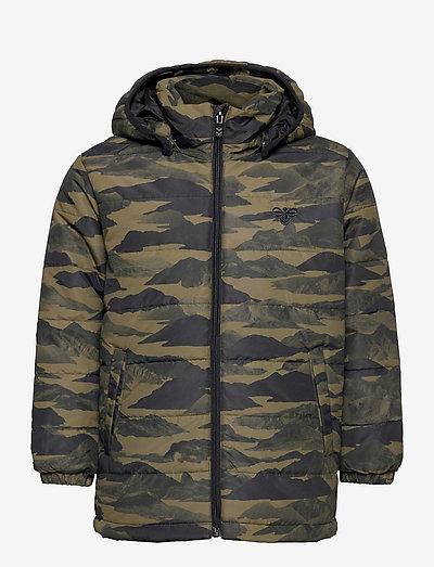 hmlECHO JACKET - insulated jackets - dark olive