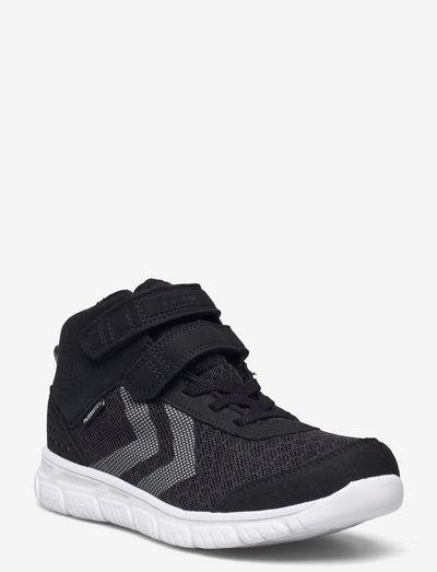 CROSSLITE MID TEX JR - lave sneakers - black