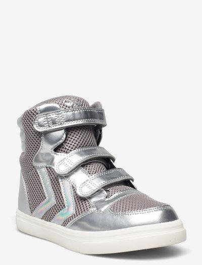 STADIL GLITTER JR - høje sneakers - alloy