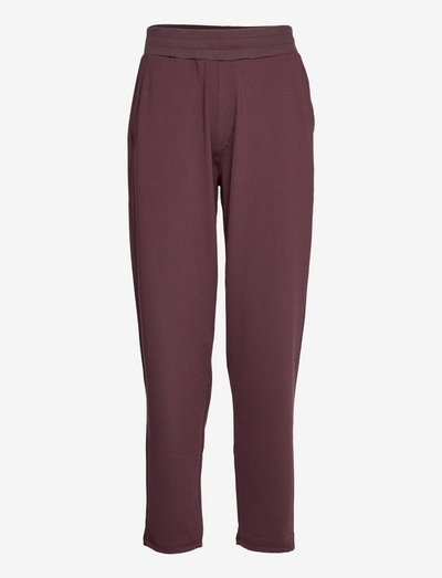 hmlLUISE LOOSE PANTS - spodnie treningowe - fudge