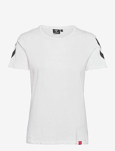 hmlLEGACY WOMAN T-SHIRT - t-shirty - white