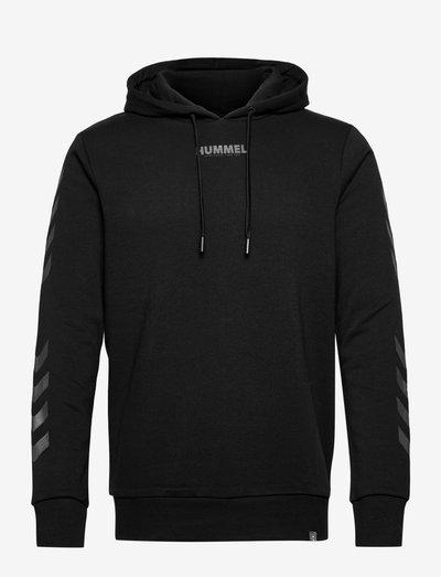 hmlLEGACY HOODIE - hoodies - black