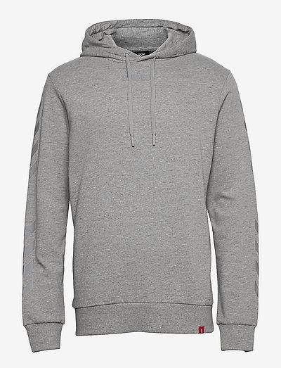hmlLEGACY HOODIE - hoodies - grey melange