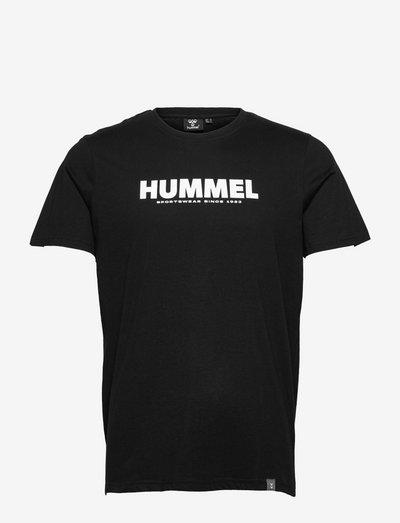 hmlLEGACY T-SHIRT - t-shirts - black