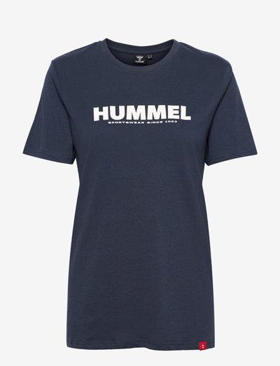 hmlLEGACY T-SHIRT - t-shirts - blue nights