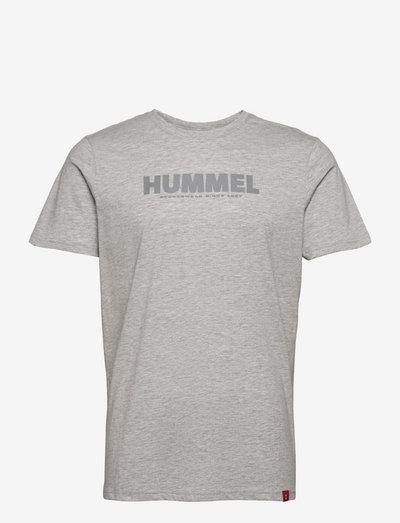 hmlLEGACY T-SHIRT - t-shirts - grey melange