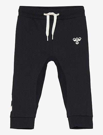 hmlAPPLE PANTS - sporthosen - black