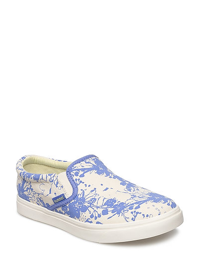 SLIP-ON CHERRY BLOSSOM JR - AMPARO BLUE