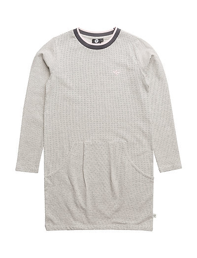 HMLLISA DRESS L/S - BLACK/WHITE