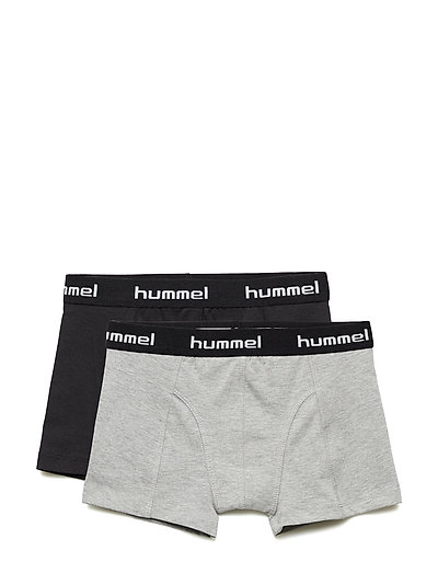 HMLTROY 2-PACK BOXERS - BLACK