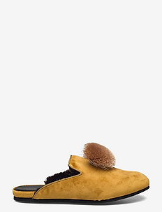 Hums Tassle Loafer - mules & slipins - yellow