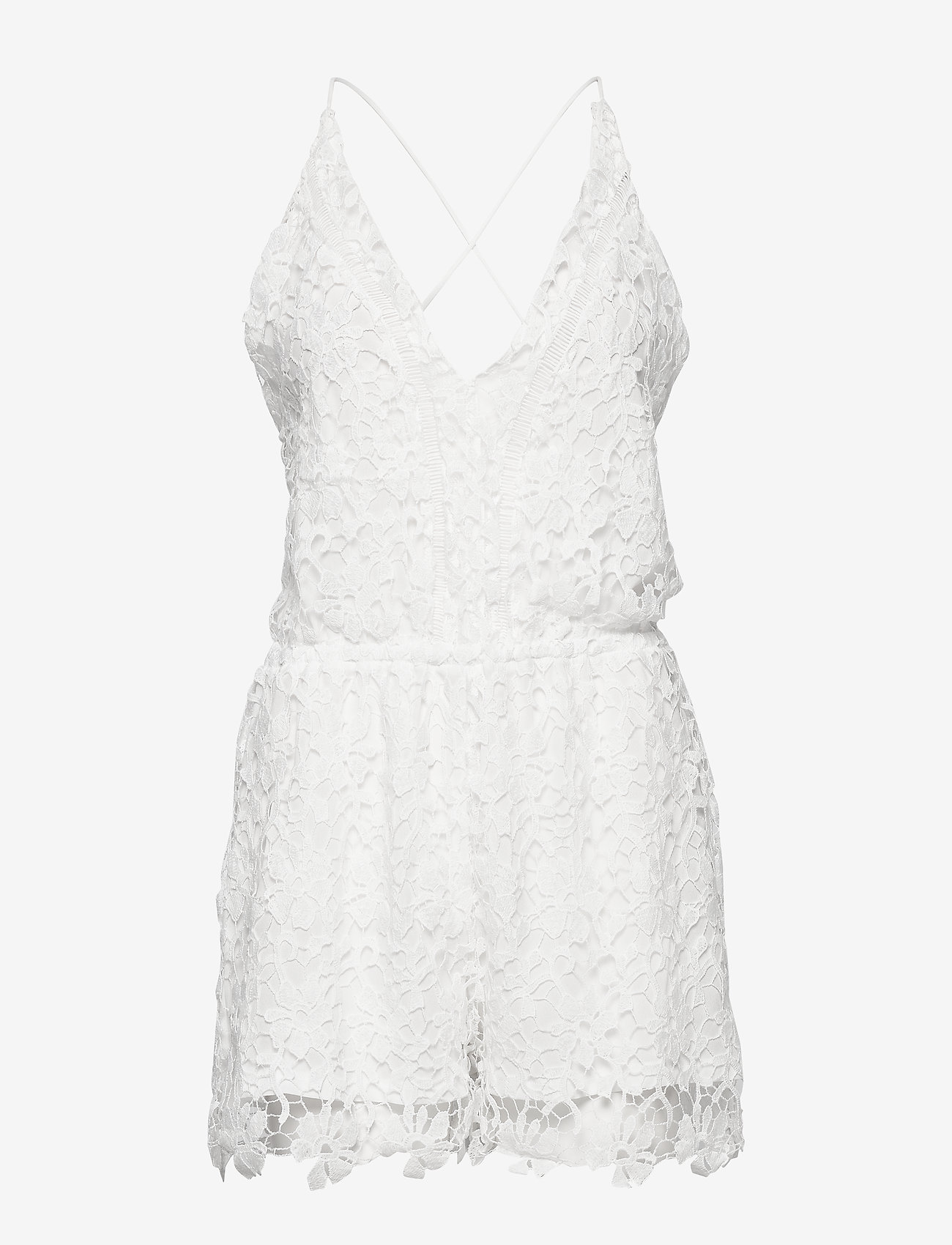 Hunkemöller - Crochet Playsuit - pyjama''s - off white - 0