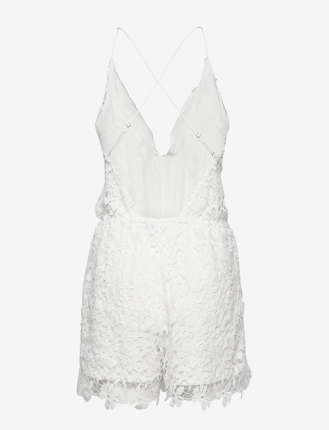 Hunkemöller - Crochet Playsuit - pyjama''s - off white - 1