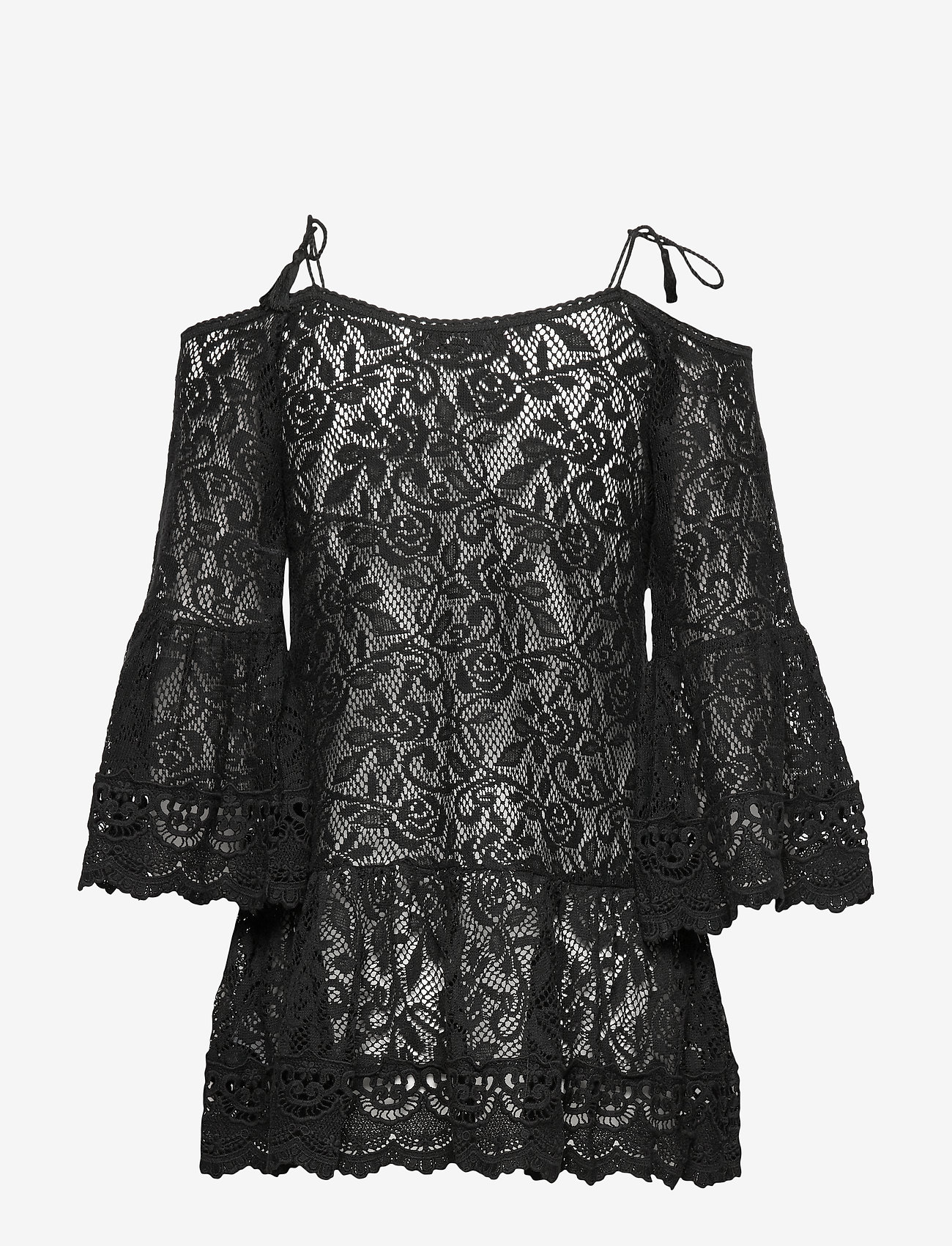 Allover Lace Tunic (Black) (434.25 kr) - Hunkemöller
