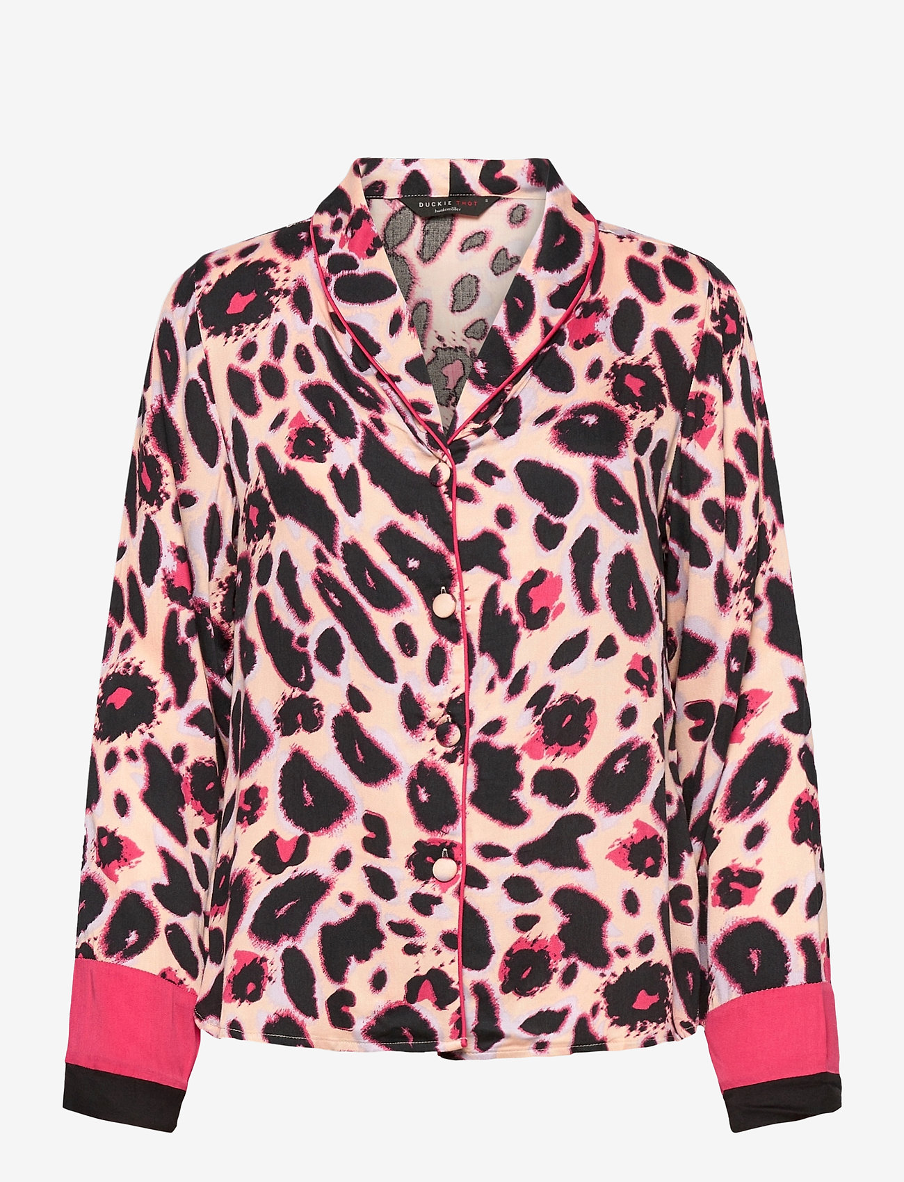 Hunkemöller - Jacket LS Woven Bright Leopard - tops - spanish villa - 0