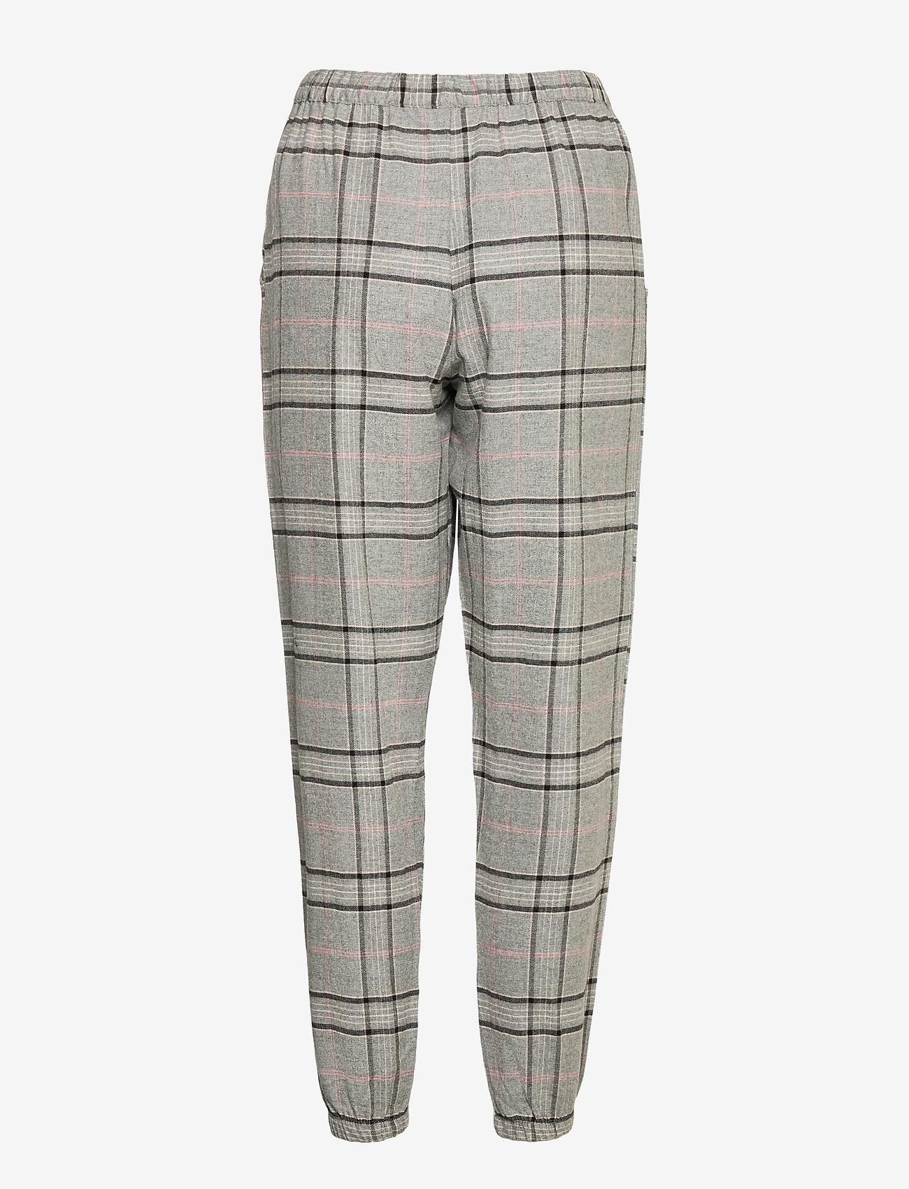 Hunkemöller - Pant Twill Check - pyjama''s - warm grey melee - 1
