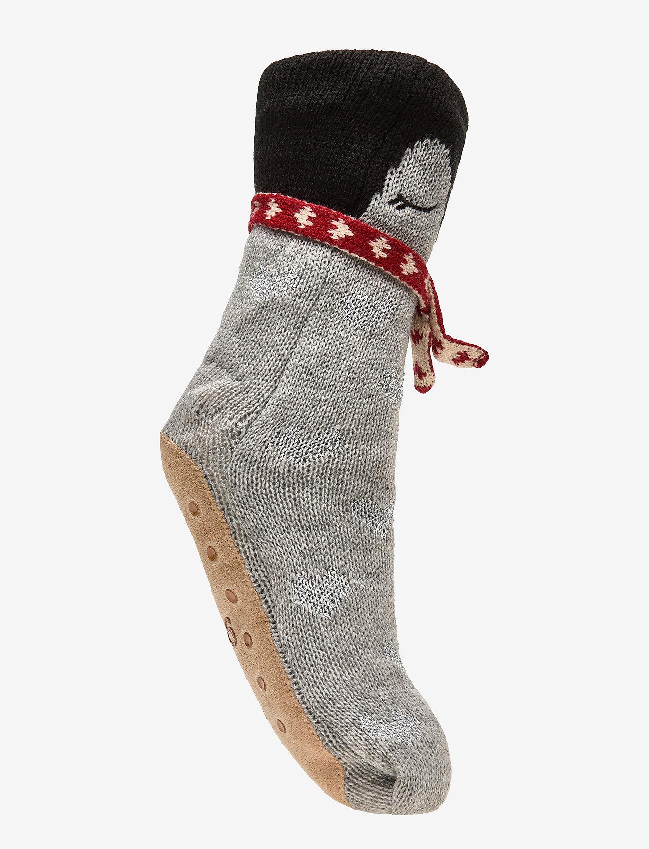 Hunkemöller - Penguin Sock Boot - sokken - grey - 1