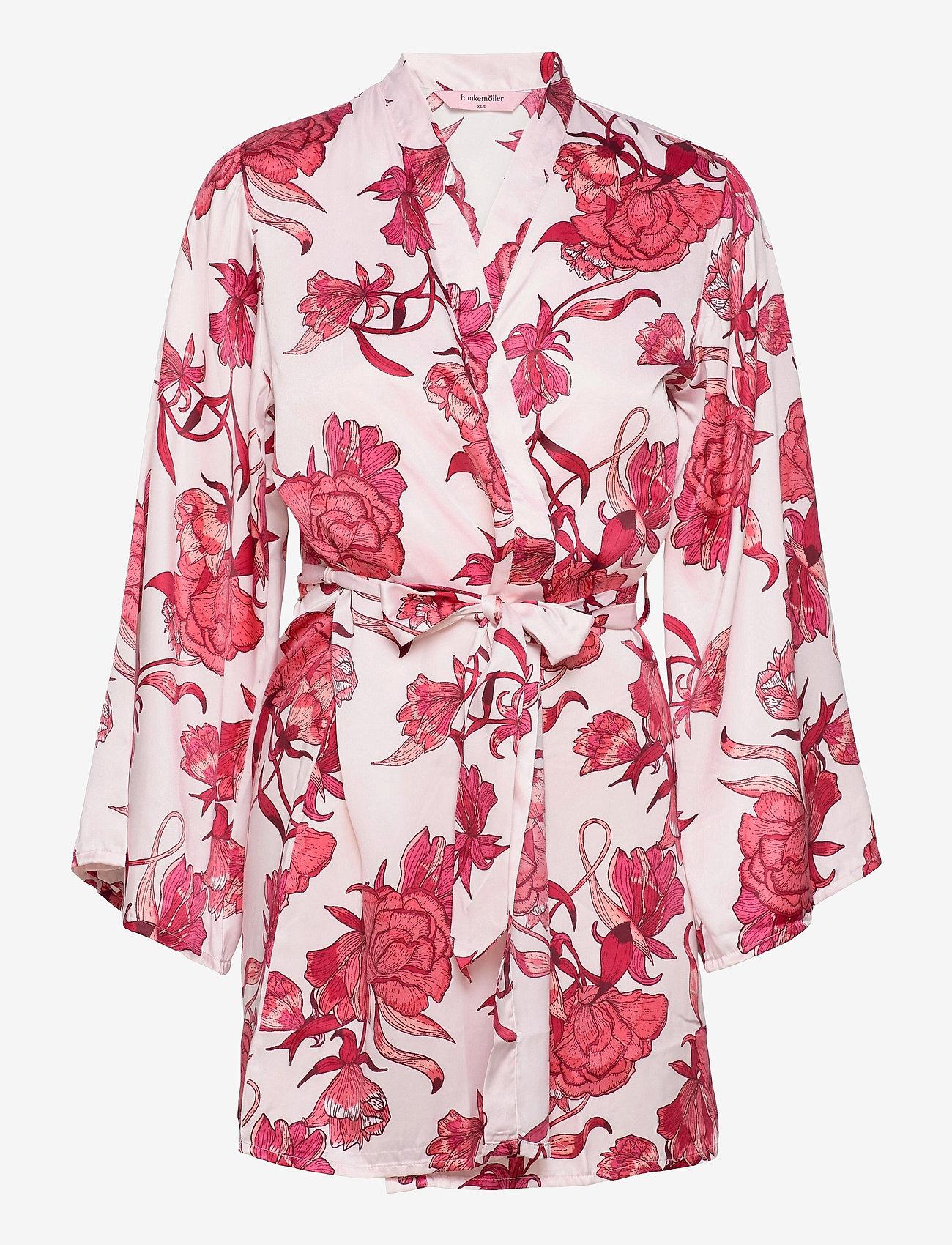 Hunkemöller - Kimono Satin Zinnia - kimonos - cloud pink - 0