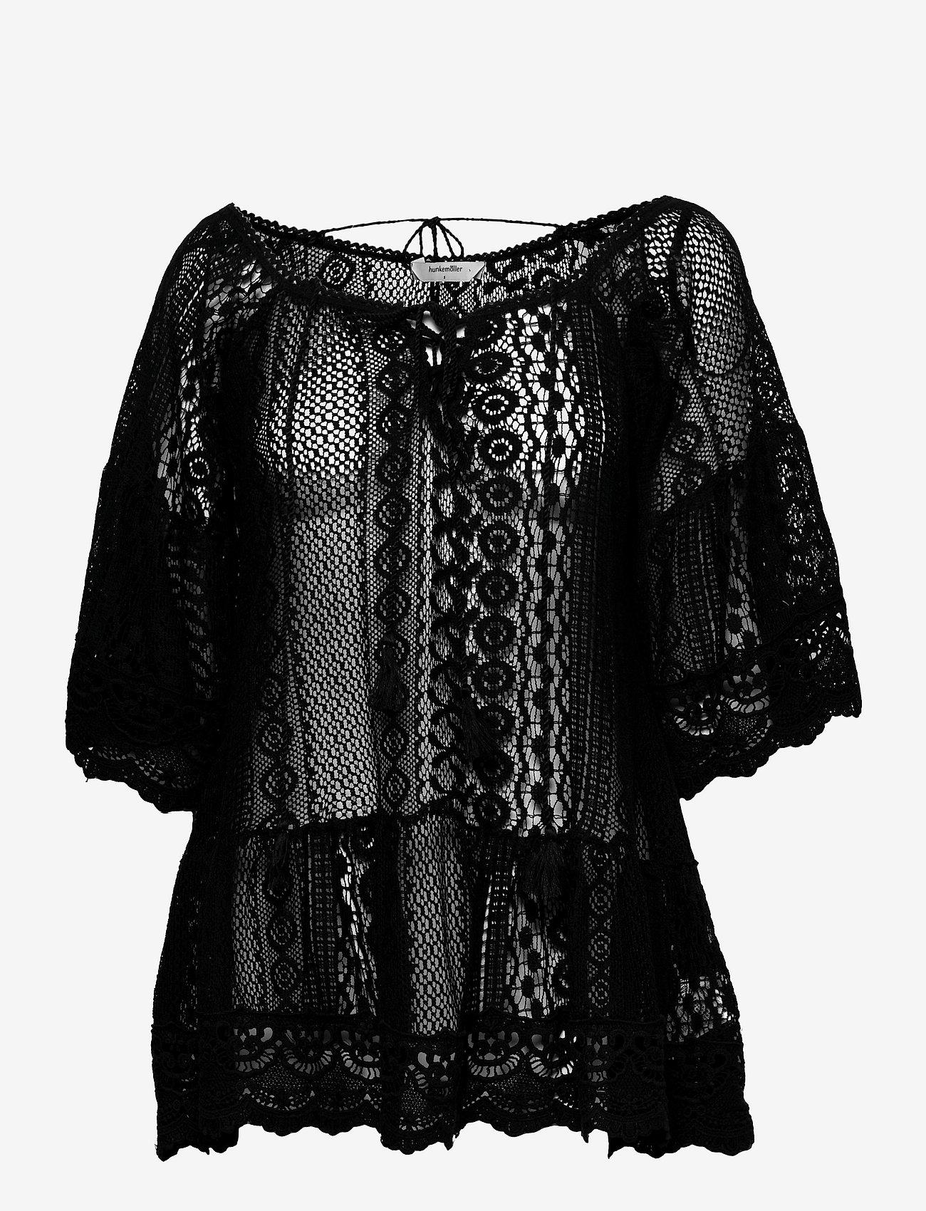 Hunkemöller - Lace Tunic - overige badmode - black - 0