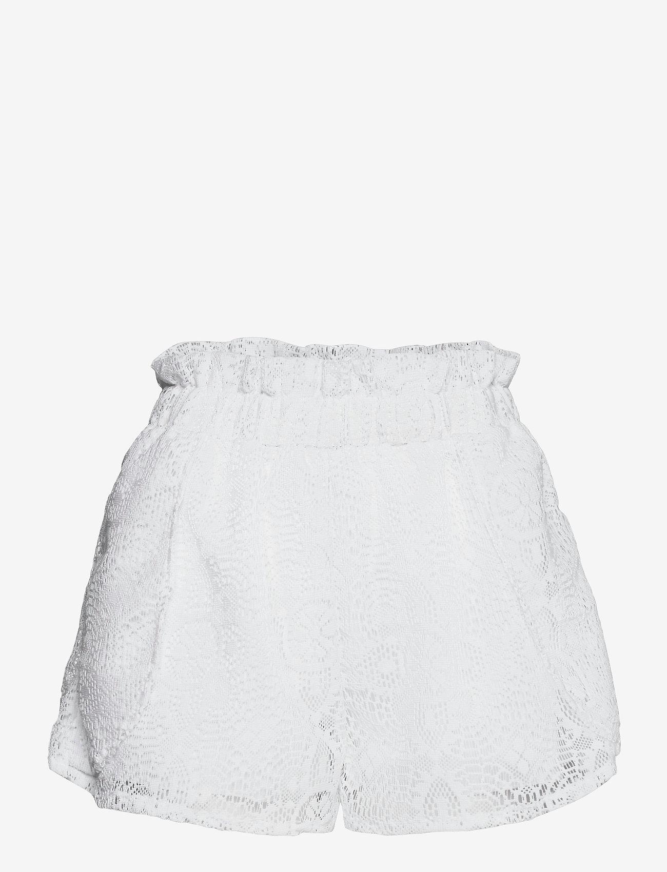 Hunkemöller - Lace Short - overige badmode - off white - 0