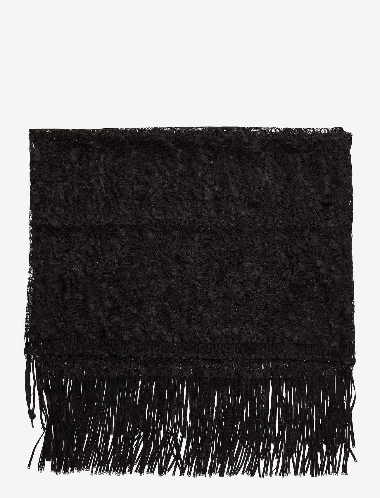 Hunkemöller - Crochet Pareo - sjalen - black - 1