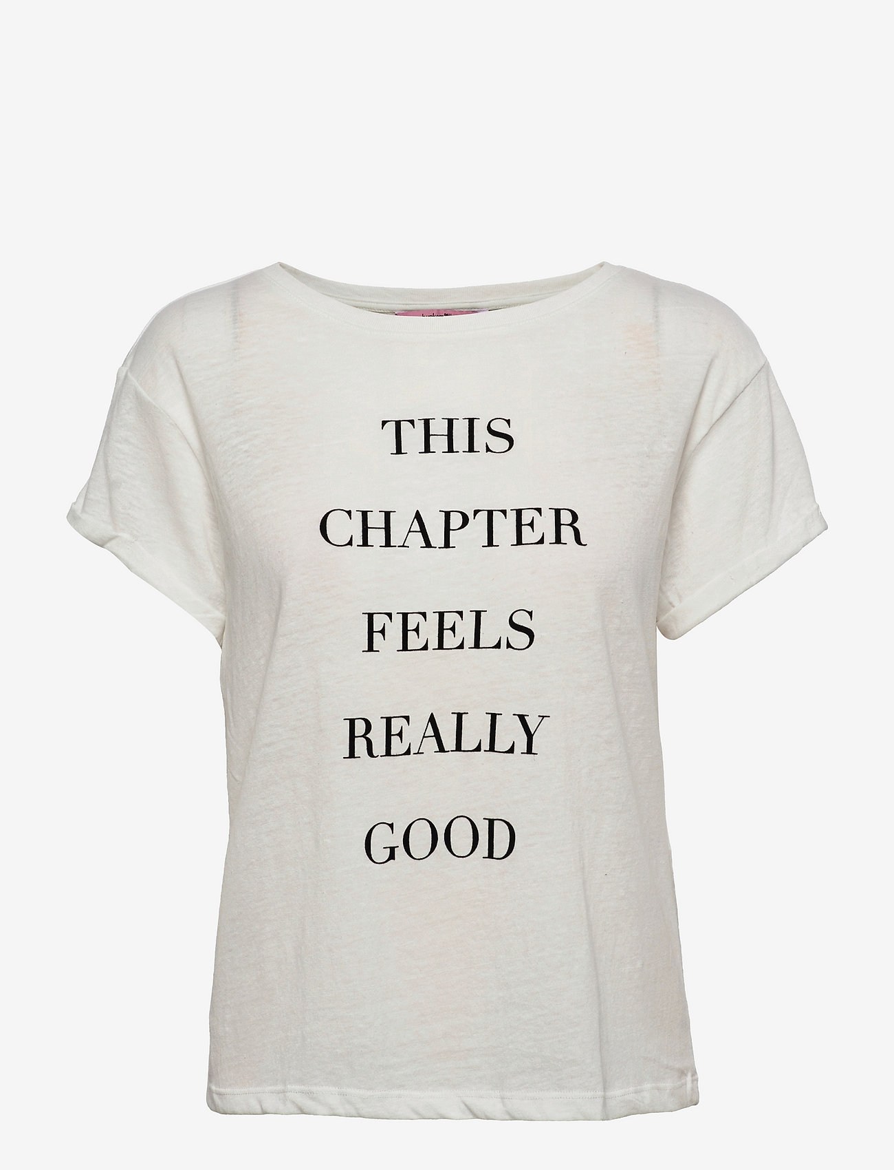 Hunkemöller - Top Ss Quote - tops - snow white - 0