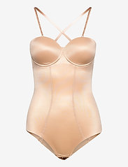 Hunkemöller - Scuba Cupped Body - bodies & slips - rugby tan - 1