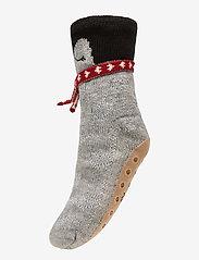 Hunkemöller - Penguin Sock Boot - sokken - grey - 0