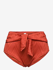 Hunkemöller - Galibi Texture rio hw - bikinibroekjes met hoge taille - cinnebar - 1