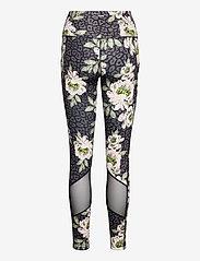 Hunkemöller - Oh My Squat HW L Bloom - leggings - black - 1