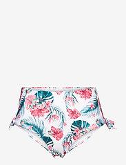 Hunkemöller - Vintage cheeky hw - bikinibroekjes met hoge taille - white - 0