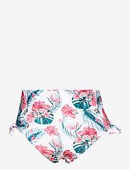 Hunkemöller - Vintage cheeky hw - bikinibroekjes met hoge taille - white - 1