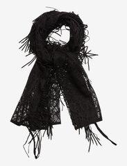Hunkemöller - Crochet Pareo - sjalen - black - 0