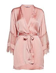 Kimono Satin Insert Lace - BRIDAL ROSE
