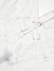 Hunkemöller - SD Satin Lily - bodies & slips - snow white - 3