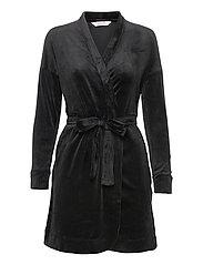 Robe Velours - BLACK