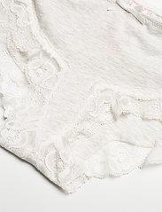 Hunkemöller - Secret Lace Cotton boxer r - slips - grey melee - 2