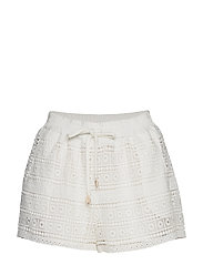 Crochet short - BLANCO